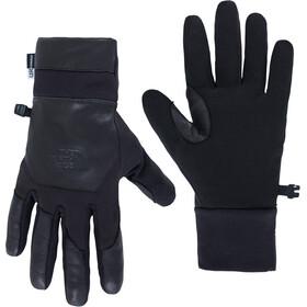 The North Face Etip Leather Gloves Herr tnf black